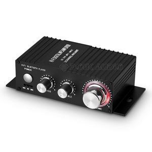 Image 2 - HIFI 100W 2.0 Channel Power Amplifier สเตอริโอเครื่องรับสัญญาณเสียงดิจิตอล Amp สำหรับรถ Marine เครื่องเล่นเพลง USB IR REMOTE