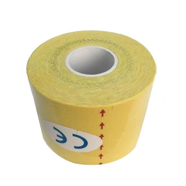 Kinesiology Tape 2.5cm*5m Athletic Tape Sport Recovery Tape Strapping Gym Fitness Tennis Running Knee Muscle Protector #ED 3