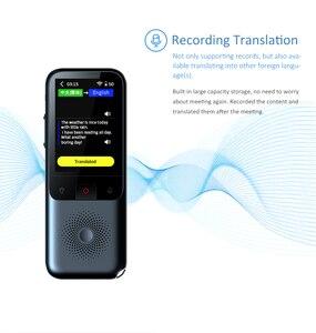 Image 4 - Traductor de voz inteligente portátil T11, 138 idiomas, Multi lenguaje, traductor interactivo fuera de línea, viajes de negocios