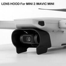 Антибликовая Крышка для объектива с шарнирным замком Защитная крышка от солнца для DJI Mavic Mini /Mini 2 Аксессуары для радиоуправляемого дрона