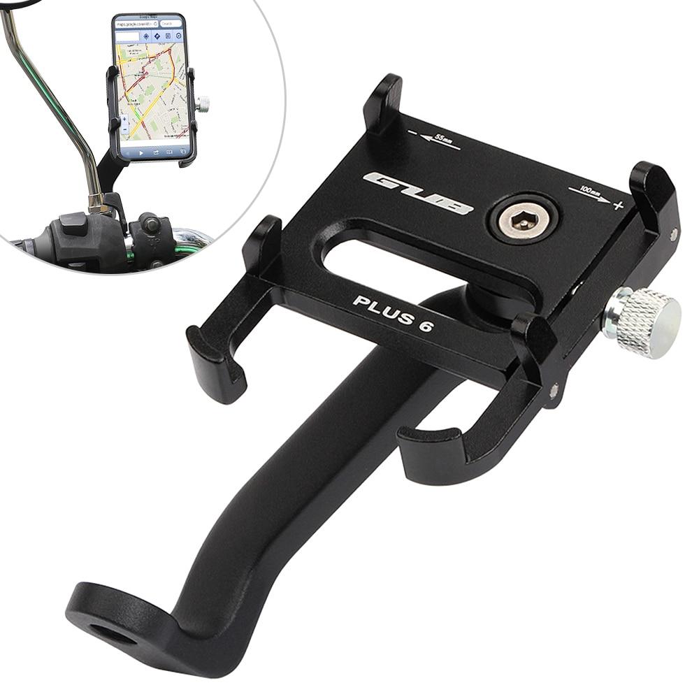 Aluminum Alloy Bike Bicycle Handle Phone GPS Mount Handlebar Holder Extender