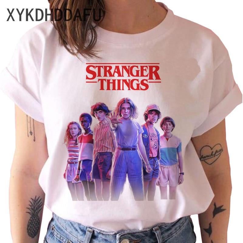 Stranger Things Season 3 T Shirt Men/women Upside Down Eleven Tshirt Male Graphic T-shirt Top Tee Shirts Funny Clothing Harajuku