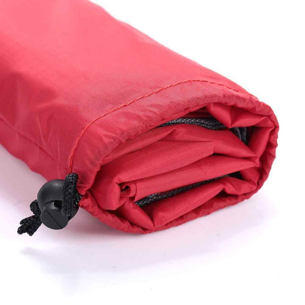الظل خيمة مظلة القماش في الهواء الطلق متعددة الوظائف النايلون 5 اللون التخييم حصيرة السفر شاطئ حصيرة