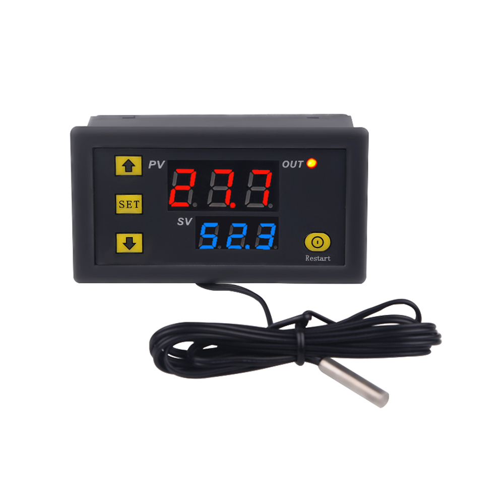 LCD DC 12V 20A Digital Thermostat Temperature Controller Meter Regulator For Garden Room
