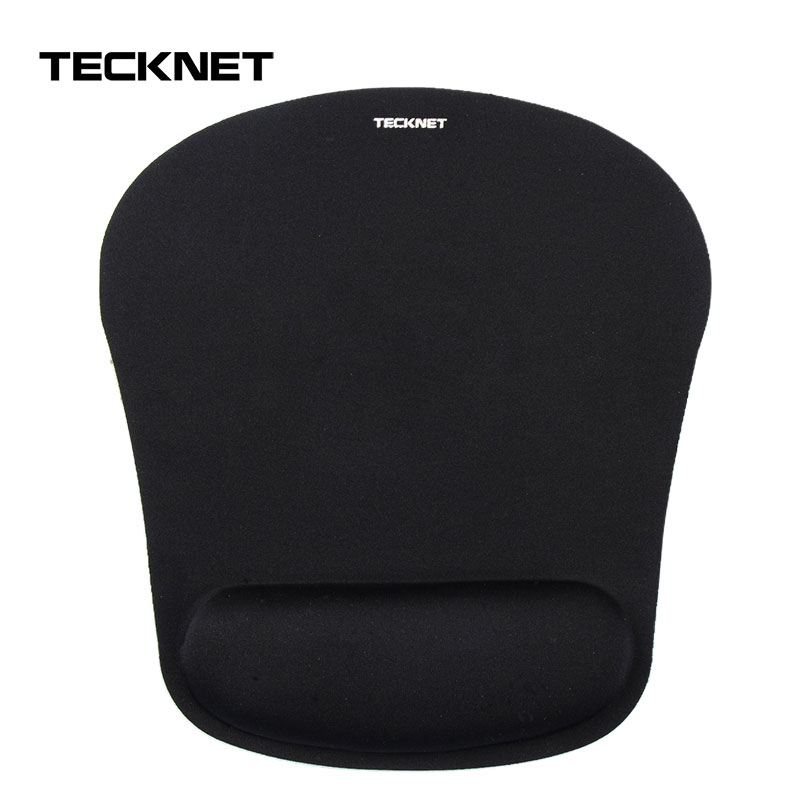 TeckNet Classic Office Mouse Pad Gaming Mouse Mat Pad Ergonomic Mousepad Build-in Soft Sponge With Gel Wrist Rest Mice Pad