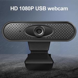 Willkey 1080P Webcam Microphone Computer-Camera Online Teaching Driver-Free Full-Hd Pc