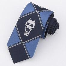 Costumes-Accessories Neck-Tie Kira Yoshikage Killer-Queen Skull Woman 7CM Cosplay Halloween