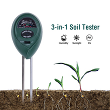 3 in 1 PH soil Moisture / Light / pH Meter Acidity moisture sunlight garden plants Flowers damp tester tool instrument phscan20s waterproof pencil ph meter acidity meter portable special