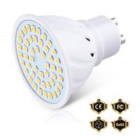 6 uds GU10 bombilla LED E27 3W 5W 7W foco LED 220V lámpara LED MR16 foco E14 bombilla GU5.3 ampolla B22 Bombillas SMD 2835