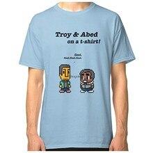 Troy e abed amp middot comunidade amp middot programa de tv clássico camiseta dmn moletom com capuz preto