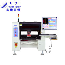 4 Heads HW-T4SG-50F 50 Feeders Desktop Pick and Place Machine SMD Components Manufacturer LED Light Assembly Line