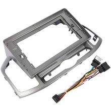2 Din Car Radio Face Plate Frame for Chevrolet Captiva 2017 Car DVD GPS Navi Player Panel Dash Mount Kit Car Product(China)