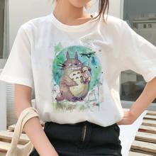Женские футболки с принтом из аниме для женщин футболка Хаяо