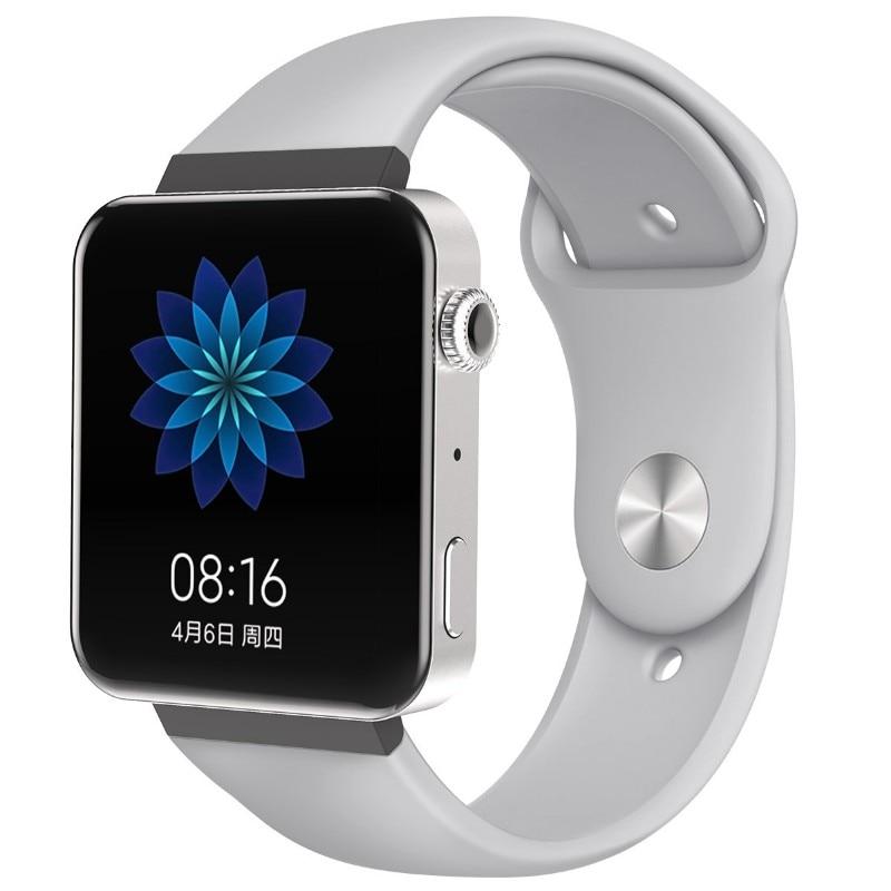 Мягкий силиконовый ремешок для часов для xiaomi smart watch, новинка, сменный ремешок для mi watch, резиновый ремешок для часов, аксессуары - Цвет: 8071