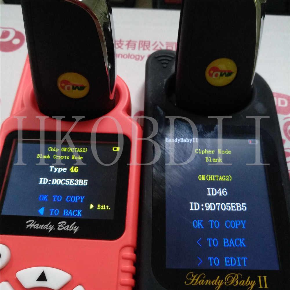 1/5/10 個オリジナルユニバーサル多機能 jmd スーパーリモートレッドチップ車のキー ds スタイルのための赤ちゃん 2 キープログラマー