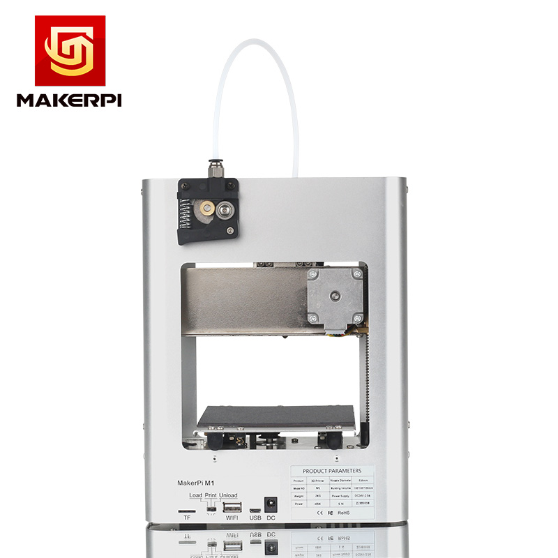 MakerPi Portable 3D Printer FDM Education Desktop One-button Printing for Home Use and Beginners 3
