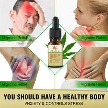 100% Pure USDA Organic Hemp Seed Oil Herbal Drops Massage Oil Body Relieve Stress Oil Skin Care Help Sleep Massage Essential Oil styx oil for body massage vitality
