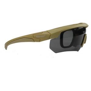 Мужские солнцезащитные очки, военные армейские боевые очки, тактические Защитные очки для страйкбола, пейнтбола, велосипедные очки, походные очки Туристические очки      АлиЭкспресс