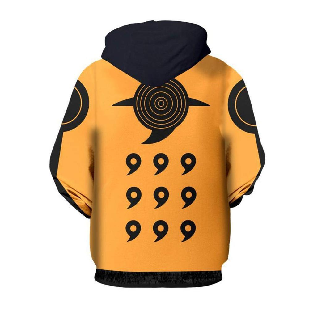 Boruto Naruto Hoodies Jacket Men Harajuku 3D Hoody Akatsuki Coat Uchiha Itach Cosplay Costume Kakashi Zipper Hooded Sweatshirts 1
