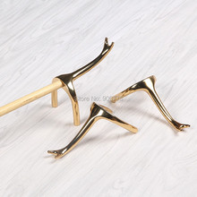 Cue Bridge Brass Swan Neck Rest Head for Cue stick snooker rest heads Pool/ billiard accessories-268g/pcs