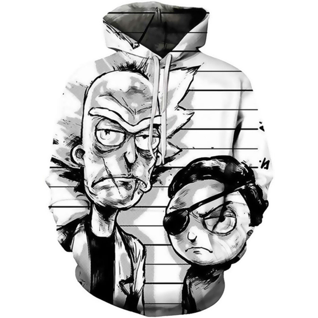 Rick And Morty Hoodie Sweatshirts 4