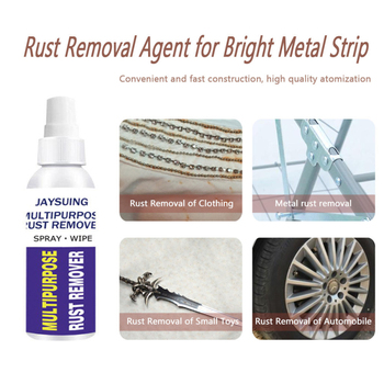 Wheel Hub Maintenance Cleaning Spray Eliminate Corrosion Surface Car Window Multifunction Rust Remover Kitchen Lubrication image