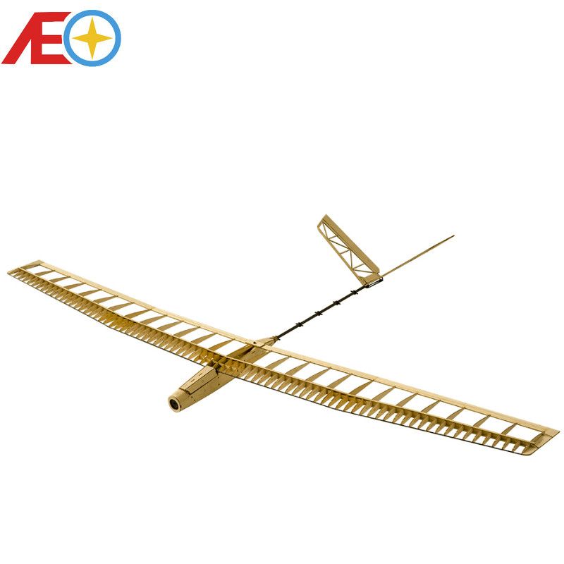 Balsawood Airplane Model Laser Cut Glider Electric Power UZI 1400mm Wingspan Building Kit Woodiness Model /WOOD PLANE