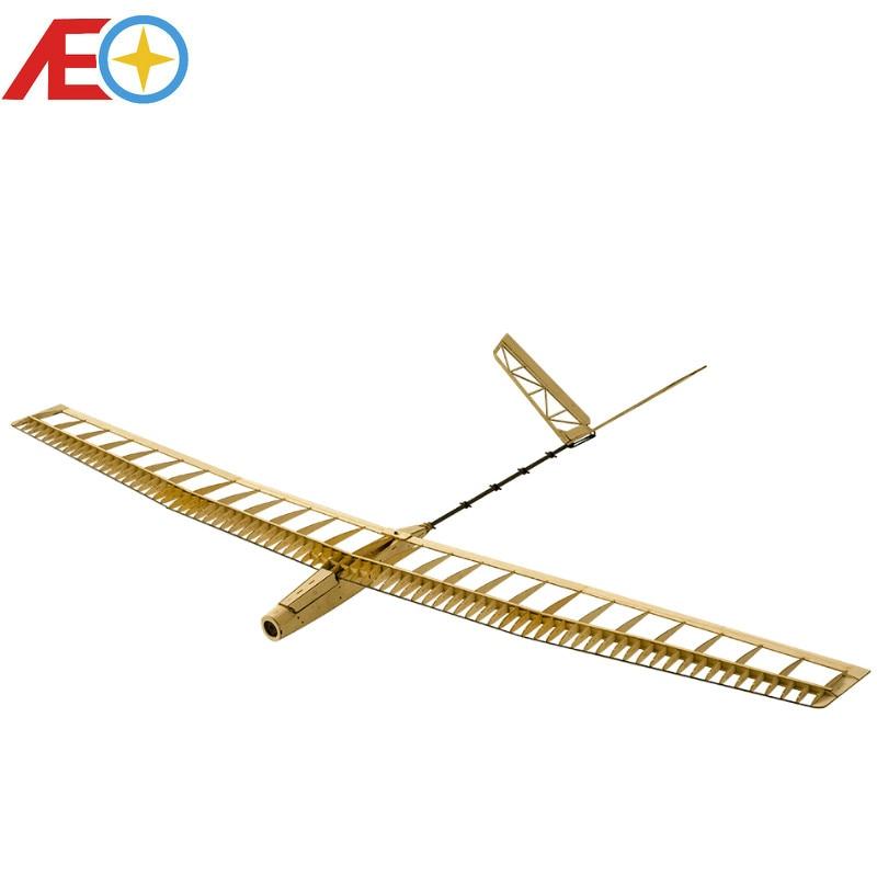 Модель самолета Balsawood, лазерная резка, Электрический планер, модель UZI 1400 мм, комплект для строительства, деревянная модель