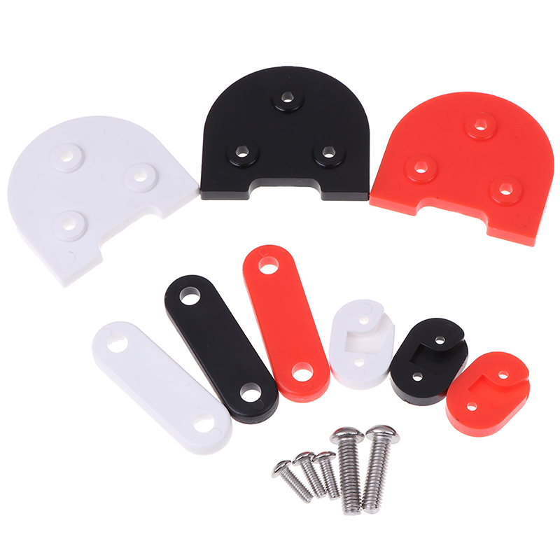 For Xiaomi M365 Upgrade Scooter 10 Inch Electric Car Accessories Pad High Bracket Gasket Rear Fender Gasket Set