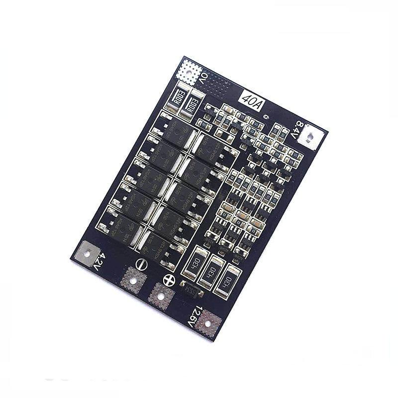 BMS 2S 3S 4S  15A 20A 40A 50A 3.7V 18650 Li-ion Lithium Battery Protection Circuit Board Module  Pcb Charger Lipo Bms Balancer