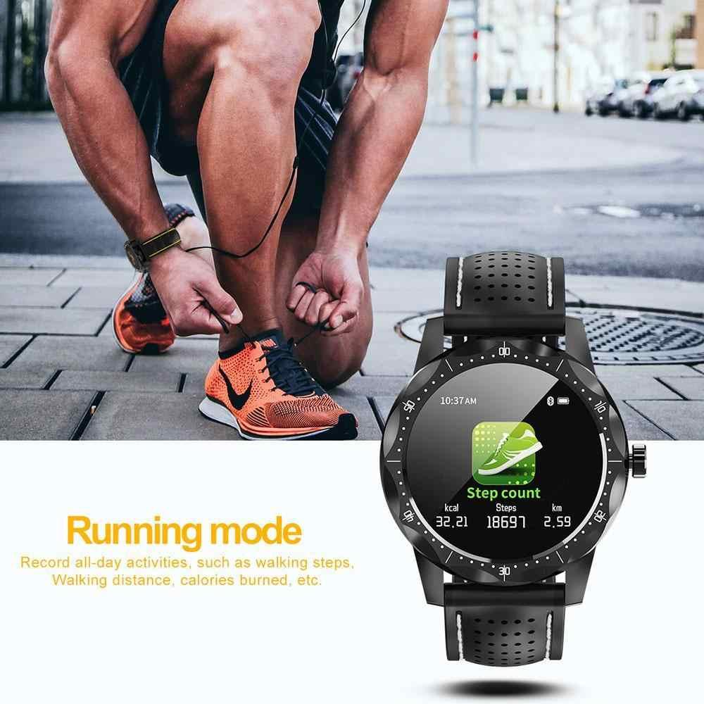 スカイ 1 スマート腕時計男性 IP68 防水アクティビテトラッカースマートウォッチ時計つばアンドロイド iphone IOS 電話