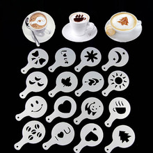 Coffee-Printing-Assembly Cocoa Chocolate Sugar Cappuccino Mold Powdered Cake-Stencils