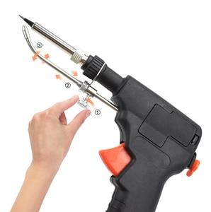 Image 5 - Toolour EU/US 60W Automatico Invia Tin Pistola tenuta in mano di Riscaldamento Interno Saldatore Stazione di Rilavorazione Dissaldatura pompa Strumento di Saldatura