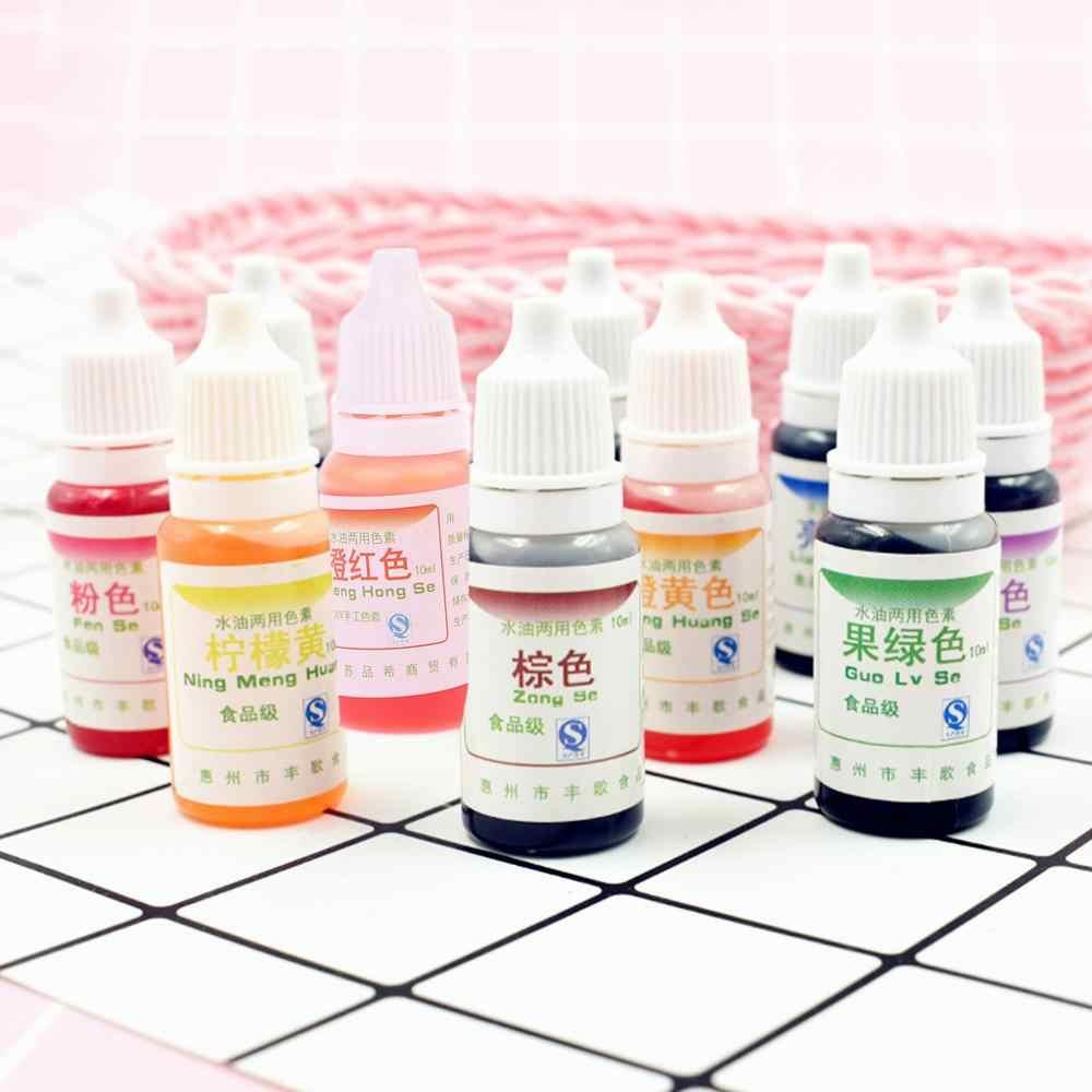 Pigmento para teñir lodo cristal UV resina para teñir aceite de agua doble uso pigmento DIY Craft