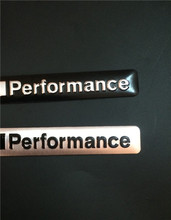 1X New Aluminum Alloy 3D M performance Badge Emblem body sticker 85mm*12mm