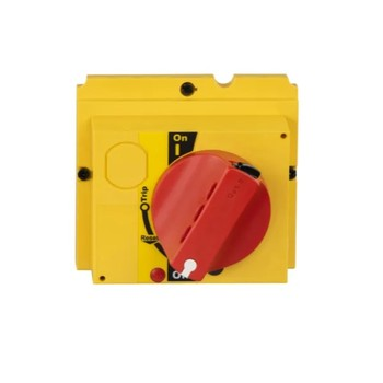 Molded Case Circuit Breaker Accessories NSX-Red / Yellow Rotating Handle (100-250) OFF Position Padlock 1 to 3 padlocks LV429339