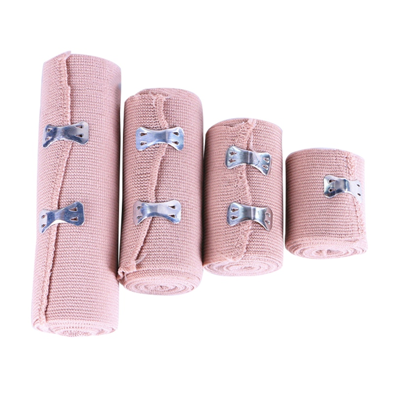 1 Roll High Elastic Bandage Wound Dressing Outdoor Sports Sprain Treatment Bandage For First Aid Kits Accessories