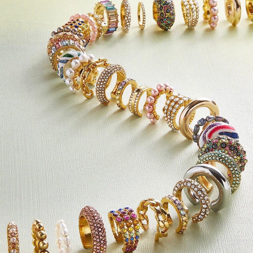 Hot Sale Pearl Zircon Clip on Earrings Ear Cuffs Stackable Earrings for Women NO Pierced Cartilage Earring Earcuffs Accessories(China)