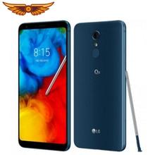 LG Q8 разблокированный 6,2 дюймов Восьмиядерный 4 Гб ОЗУ 64 Гб ПЗУ 16 МП камера 1080p Snapdragon 450 отпечаток пальца Android мобильный телефон