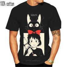 Anime Kikis teslimat hizmeti V1 Majo hiçbir Takky kutusu T Shirt tüm boyutları S 5Xl