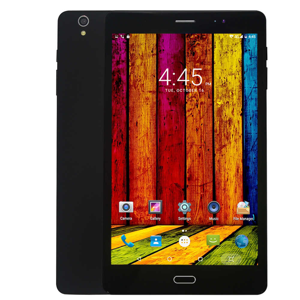 8 дюймов планшетный ПК Android 7,0 4G/3G Телефонный звонок 4 ГБ/64 Гб Восьмиядерный две sim-карты Wi-Fi bluetooth Поддержка gps Планшетный ПК + чехол