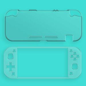 Image 3 - Étui en cristal PC rigide pour interrupteur, étui à couverture transparente pour interrupteur Nintendo Mini écran en verre trempé NS