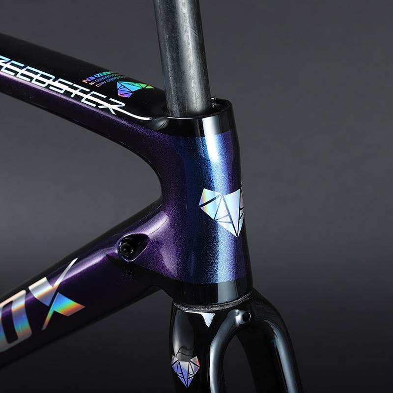 2019 TRIFOX Carbon Road Frame Bike Frame 29er Sl6 Bicycle Frame Chameleon Carbon Fibre Racing BB68 27.5 Disc Carbon Fiber Frame