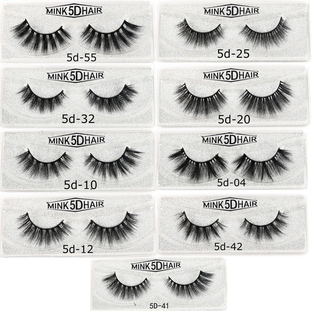 Evershine Mink Lashes 3D Mink Eyelashes 100% Cruelty Free Lashes Handmade Reusable Natural Eyelashes Popular False Lashes Makeup