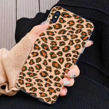 For Nokia X6 2 3 5 6 8 9 230 3310 2.1 3.1 5.1 7 Plus 2017 2018 Sexy Leopard Prain Soft TPU Transparent Cell Phone Cases(China)