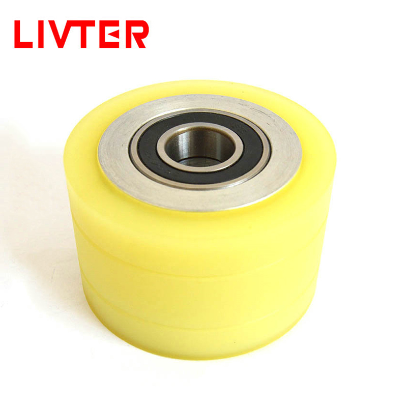 LIVTER Four-sided Planing Wheel Polyurethane Rubber Wheel Reduce Friction Working Tools