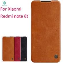 Nouveau 2019 pour Xiaomi Redmi Note 8t housse NILLKIN PU cuir étui à rabat pour Xiaomi Redmi Note 8t couverture portefeuille étui en cuir