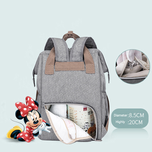 Image 4 - Disney Fashion Mummy Maternity Nappy Bag Large Capacity Baby Bags For Mon Travel Backpack Nursing Bag or Baby Care Diaper Bag