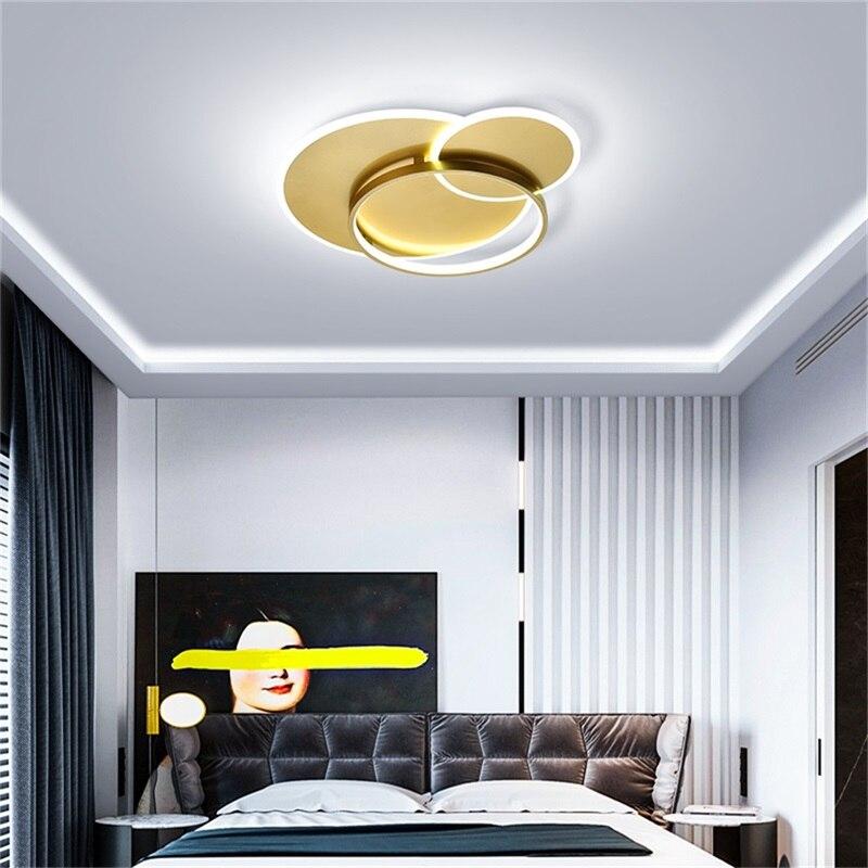 Luminária de teto led wpd com controle