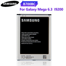 100% Original Phone Battery B700BC B700BE For SAMSUNG Galaxy I9200 Mega 6.3 8GB Replacement Battery 3200mAh